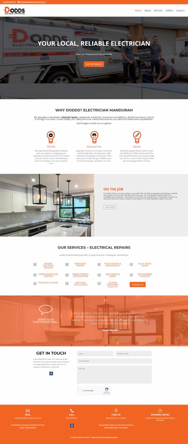 Dodds Electrical