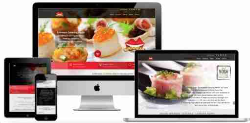 Catering Business Website Design Mandurah | Food Web Design