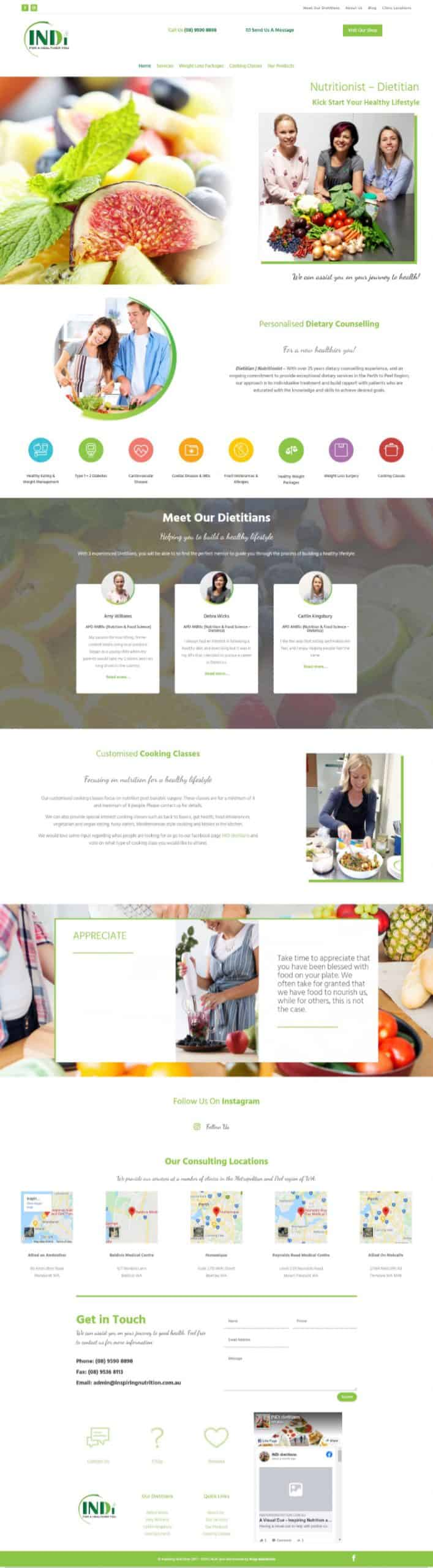 Inspiring Nutrition Dietitian