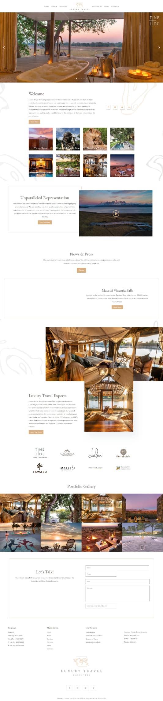 Luxury Travel Marketing
