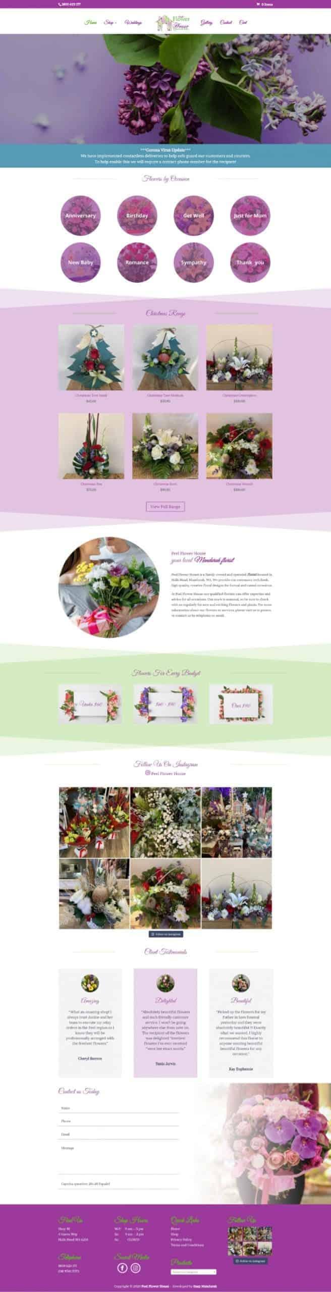 WordPress Website Design Mandurah