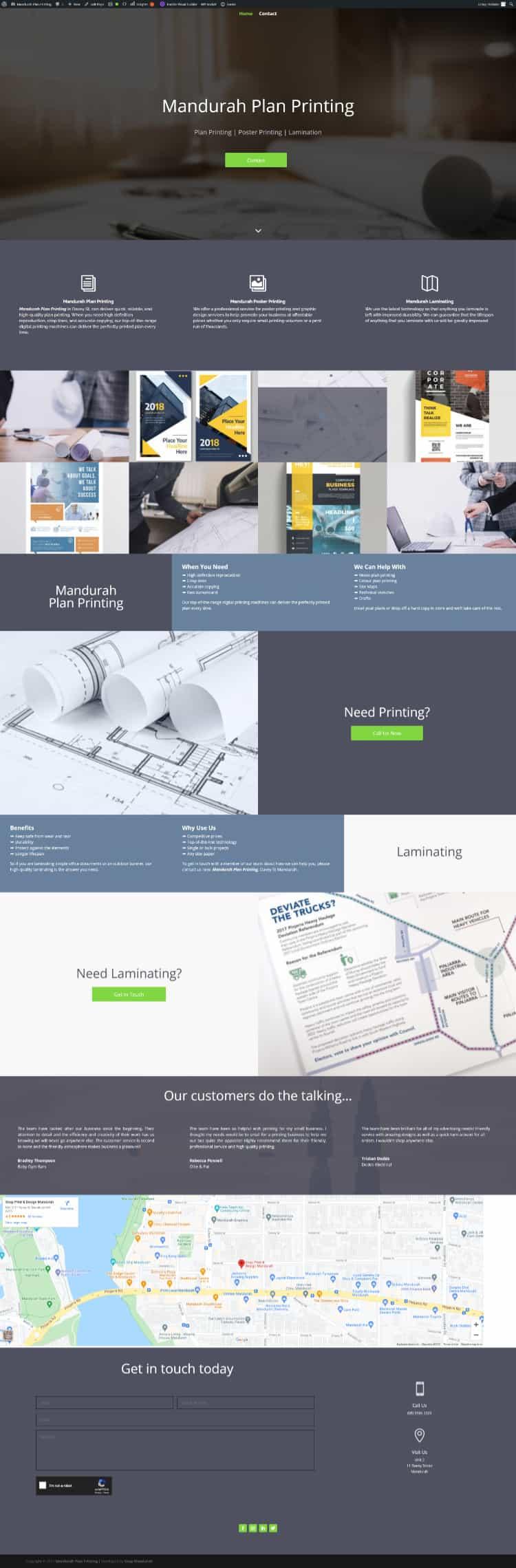 Mandurah Plan Printing Laminating